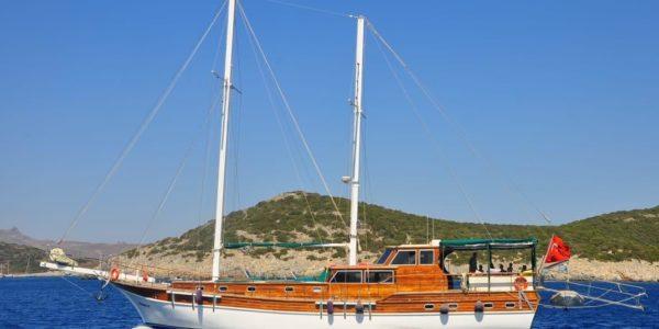 Gulet-Boot – Ein Kurs in Wundern – Ägäis